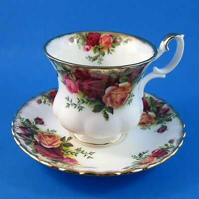 Royal Albert Old Country Roses Demitasse Tea Cup and Saucer