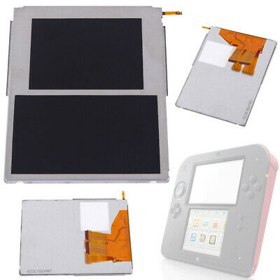 Replacement Video Top & Bottom Upper Lower LCD Screen Display For Nintendo 2DS