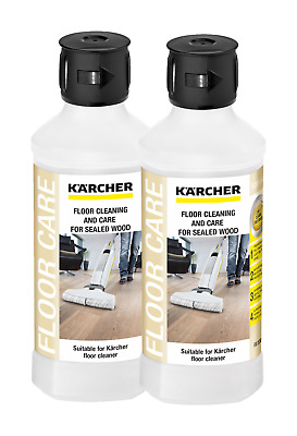 Karcher FC 5 - RM 534 Sealed Wood Floor Cleaner - 2 x 500 ml - 62959410