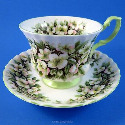 Royal Albert Fragrance Series Orange Blossom Tea Cup and Saucer Set