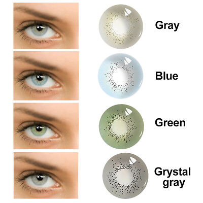 1Pair Eyes Makeup Unisex Cosmetic Contact Lenses Halloween Party Cosplay Nuevo