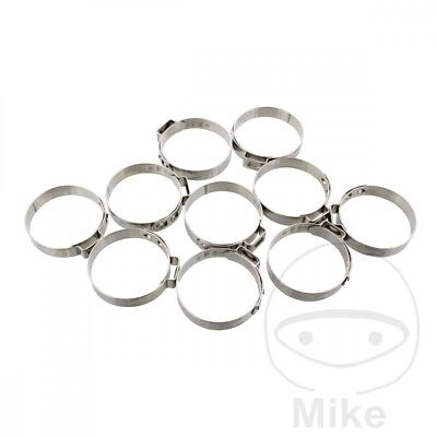JMP Band Clamp 33.0MM Width 7MM Stainless Steel x10pcs