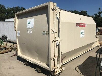 """PTR PT330 Self-Containted 30yd Trash Compactor 41""""x60"""" Opening Garbage Recycling"""