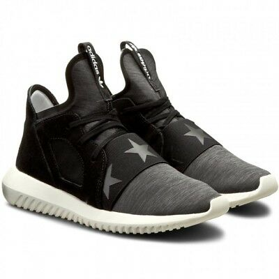 Womens Size Black or Adidas by Tubular Rita Defiant Ora 7 White Grey 6 Trainers nwqp1FRXq