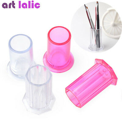 Nail Art Brushes Storage Holder Painting Pen Case Organizer Container