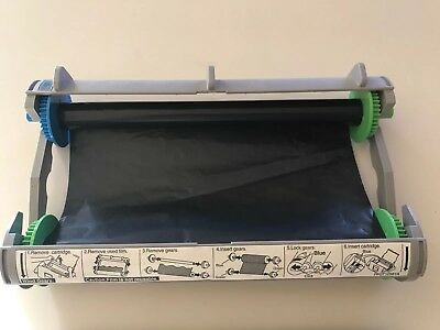 KX-FA135 Panasonic Fax Tray Filled Two Partial Rolls - See Pics