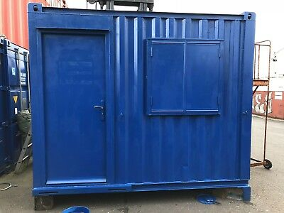 10' foot Anti Vandal Cabins, Container Stores Fork Pockets Electrics