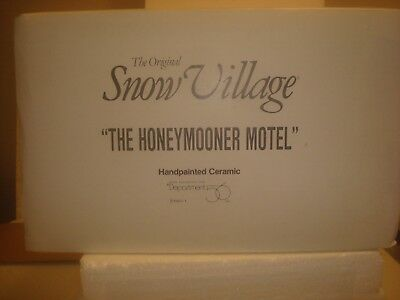 DEPT 56 Snow Village -  Honeymooner Motel - #5401-1