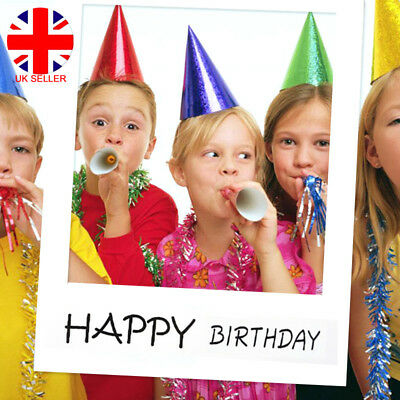 18/30/40/50th 21st Giant Frame Photo Booth Props Happy Birthday Fun Selfie UK