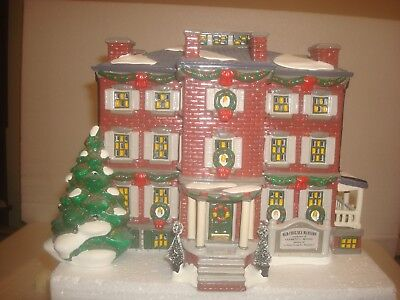 DEPT 56 Snow Village -  Old Chelsea Mansion  #56.54903