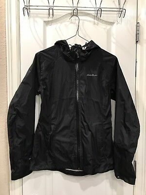 2a61b27a1 Eddie Bauer WOMEN'S CLOUD CAP LIGHTWEIGHT RAIN JACKET (Packable)—XS, Black