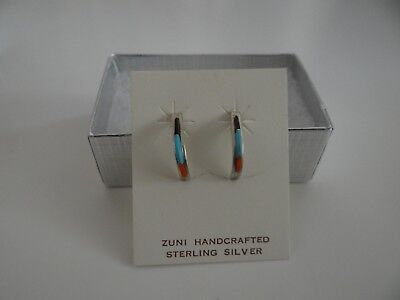 2f99c24b598 ZUNI HANDCRAFTED STERLING Silver Earrings New - $18.00 | PicClick