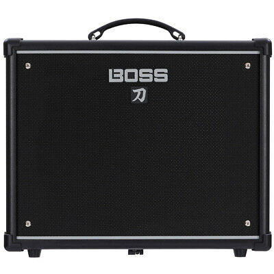 Boss KATANA-50 50-watt 1x12 Combo Guitar Amplifier, New!