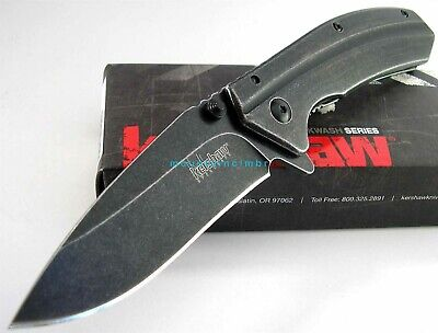 Kershaw Filter BlackWash SpeedSafe Flipper Assisted Opening Knife New Box 1306BW