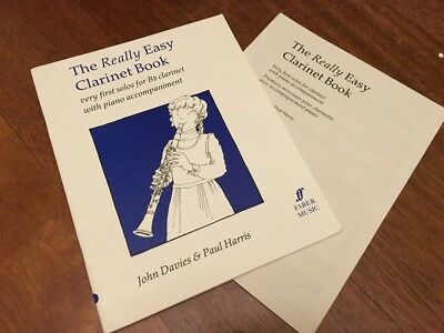 The Really Easy Clarinet Book by Davis and Harris