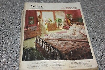 1978 Vintage SEARS Fall Winter Catalog Free Fast Shipping