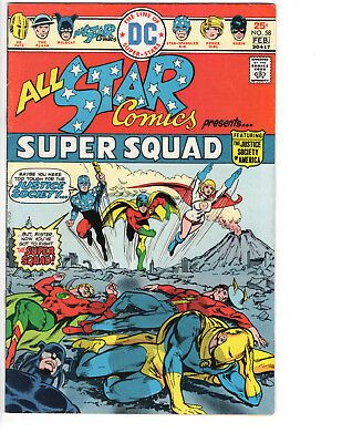 All-Star Comics #58 - Super Squad 1St Appearance Of Power Girl