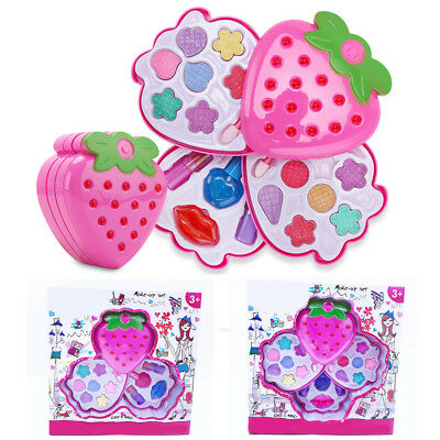 2018 Cute~Princess Pretend Makeup Set Make Up Kids Girls Simulation Children Toy