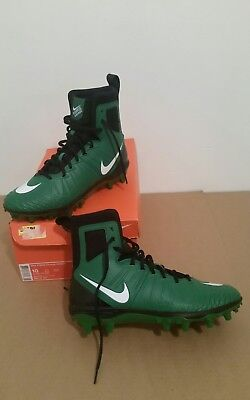 c4d188584 NEW Nike Force Savage Varsity Football Cleats Size 10 green black white