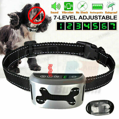 2019 New Automatic Anti Bark Collar Stop Dog Barking Waterproof Rechargeable