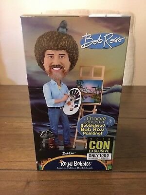 Bob Ross Variant Version Bobble Head - EE Convention Exclusive