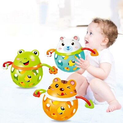 Newborn Infant Baby Toy Rattle Educational Toy Cartoon Teethers Rattle Toys US