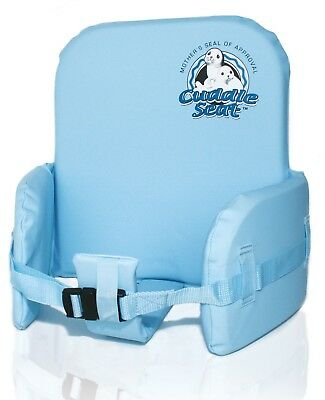 High Chair Safety Insert for Infants and Toddlers by Cuddle Seat New in Blue