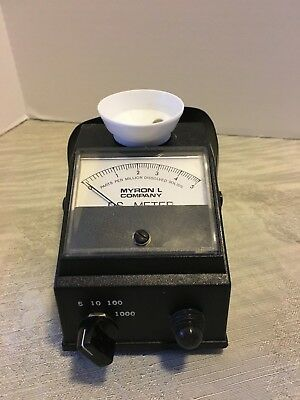 Myron L DS Meter 532 T1 Conductivity Meter Measures Parts Per Million
