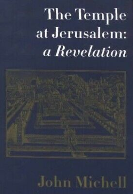 Temple at Jerusalem: A New Revelation by John Michell Paperback Book The Cheap