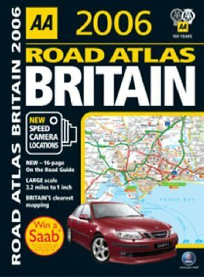 AA Road Atlas Britain 2006 (AA Atlases) by Aa Spiral bound Book The Cheap Fast