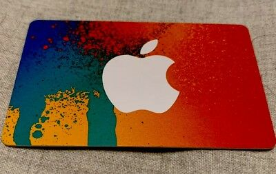 APPLE ITUNES $50 Card (for Music Downloads/Apple App Store)!