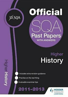 SQA Past Papers 2013 Higher History by Sqa Book The Cheap Fast Free Post