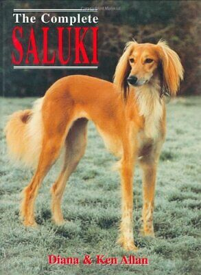 The Complete Saluki by Allan, Ken Hardback Book The Cheap Fast Free Post