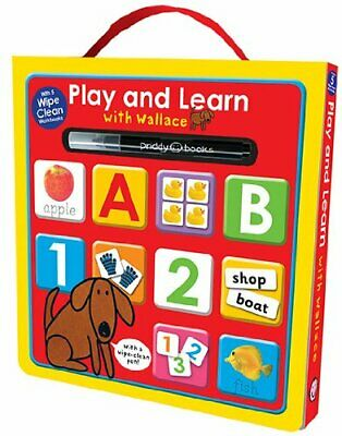 Wipe Clean Workbook Box Set (Play and Learn with Wallace) (Pl... by Roger Priddy