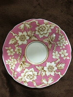 RARE Paragon Saucer Double Warrant, Pink-Brown