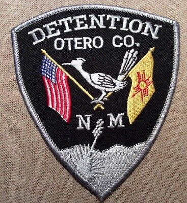 NM Otero County New Mexico Detention Patch