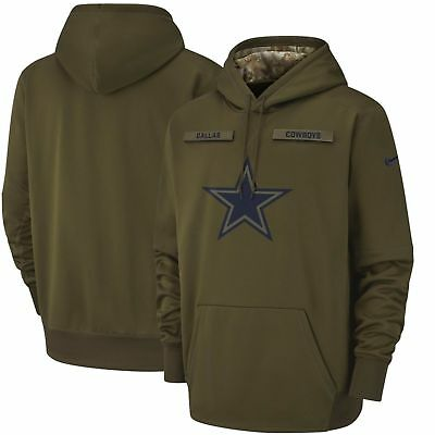 Dallas Cowboys Nike Salute to Service Sideline Therma Performance  Hoodie