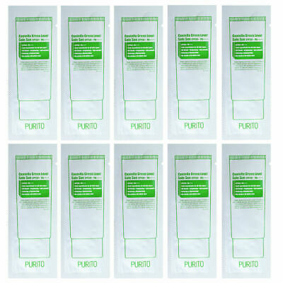 PURITO Centella Green Level Safe Sun Sample 10pcs (SPF50+ PA++++)