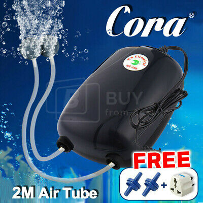 Air Bubble Disk Stone Aerator Aquarium Fish Tank Pond Oxygen Pump HOT EA