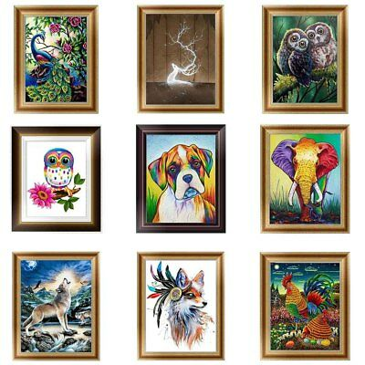 30 Arten Tiere DIY 5D Diamant Malerei Diamond Painting Stickerei Stickpackung