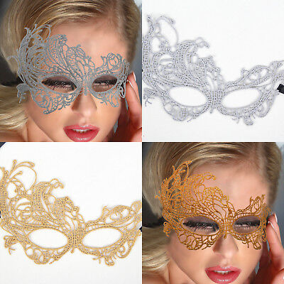 Ladies New Sexy Luxury Lace Eye Face Mask For Masquerade Party Ball Halloween