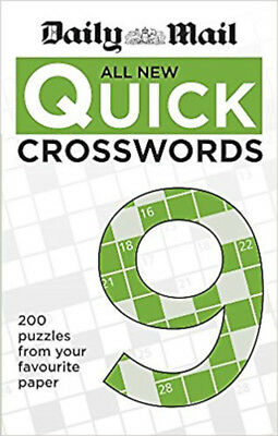 Daily Mail All New Quick Crosswords 9 (The Daily Mail Puzzle Books), New, Daily