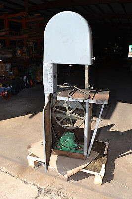 "Parks Woodworking MZ 17"" Industrial Band Saw"