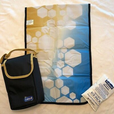 NEW Enfamil INSULATED Bag w Changing Pad + ICE PACK