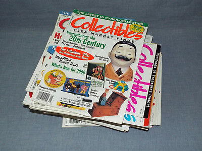 Lot 27 COLLECTIBLES FLEA MARKET FINDS magazine 1995-2001 + 9 more Collecting mag