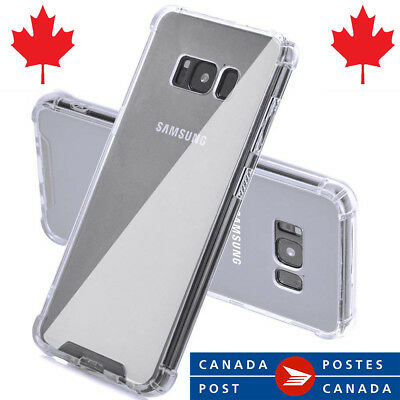 Clear Bumper Case for note 8, s8 , s8 plus Transparent TPU Soft Case for samsung
