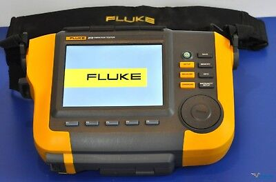 Fluke 810 Vibration Tester - With 810S Sensor, Accessories, and Warranty