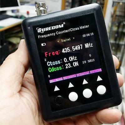 Surecom SF-401plus Frequency Counter For Radio Transceiver Tester Walkie Talkie