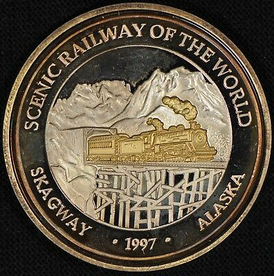 1oz Silver Round - Scenic Railway of the World - H3-154