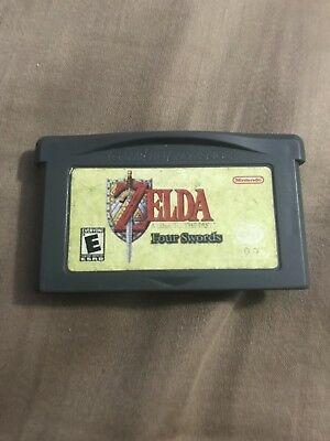 Legend of Zelda: A Link to the Past Four Swords(Nintendo Game Boy Advance, 2002)